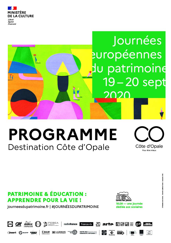 Journées Européennes du Patrimoine – Programme 2020