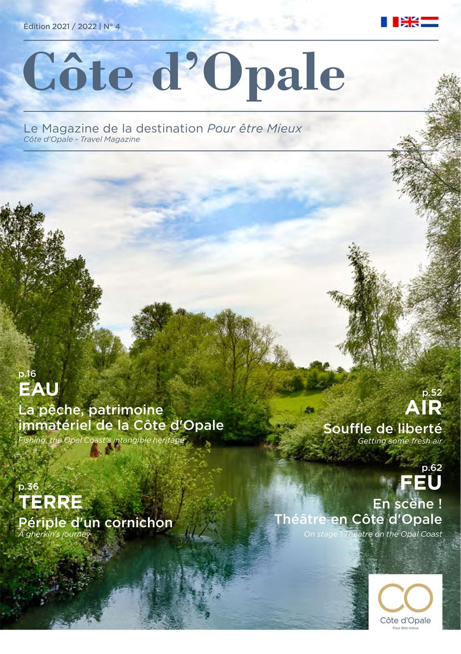 Côte d'Opale – Le Magazine de la destination Pour être Mieux – Edition 2021/2022 N°4