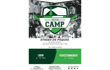 Foot TACFCO Camp